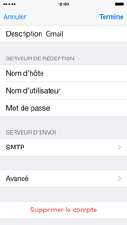 Apple iPhone 5c - E-mail - Configuration manuelle - Étape 16