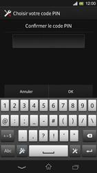 Sony Xpéria SP - Sécuriser votre mobile - Activer le code de verrouillage - Étape 10