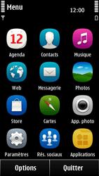 Nokia 500 - E-mail - Configuration manuelle - Étape 3