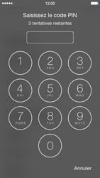 Apple iPhone 5c (iOS 8) - Premiers pas - Créer un compte - Étape 4