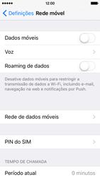 Apple iPhone 5s iOS 9 - Internet no telemóvel - Como ativar os dados móveis -  4