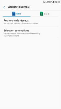 Samsung Galaxy J7 (2017) - Réseau - Sélection manuelle du réseau - Étape 7