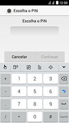 Huawei Ascend Y625 - Segurança - Como ativar o código de bloqueio do ecrã -  6