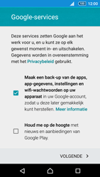 Sony Xperia Z5 (E6653) - Applicaties - Account aanmaken - Stap 16