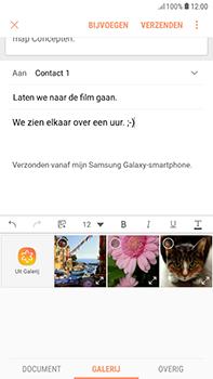 Samsung Galaxy J4 - E-mail - hoe te versturen - Stap 13