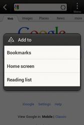 HTC A320e Desire C - Internet - Internet browsing - Step 5