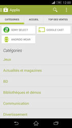 Sony Xpéria Z3 - Applications - Télécharger une application - Étape 6