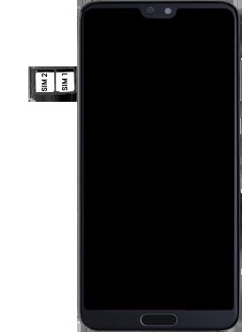 Huawei P20 pro - Premiers pas - Insérer la carte SIM - Étape 5