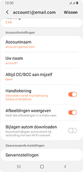 Samsung galaxy-a8-2018-sm-a530f-android-pie - E-mail - Instellingen KPNMail controleren - Stap 13