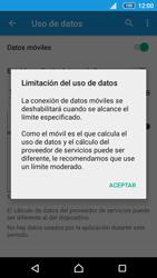 Sony Xperia Z5 Compact - Internet - Ver uso de datos - Paso 9
