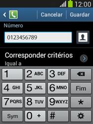 Samsung Galaxy Pocket Neo - Chamadas - Como bloquear chamadas de um número -  12