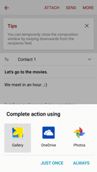 Samsung G903F Galaxy S5 Neo - Email - Sending an email message - Step 13