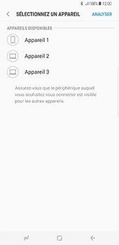Samsung Galaxy S8+ - Photos, vidéos, musique - Envoyer une photo via Bluetooth - Étape 11