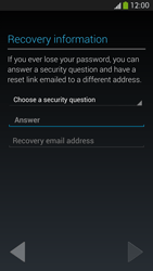 Samsung I9505 Galaxy S IV LTE - Applications - Create an account - Step 12