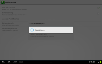 Samsung P5100 Galaxy Tab 2 10-1 - Network - Usage across the border - Step 7