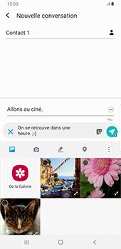 Samsung Galaxy S9 Plus - Android Pie - MMS - envoi d'images - Étape 15