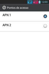 LG Optimus L5 Dual - Internet - Como configurar seu celular para navegar através de Vivo Internet - Etapa 19