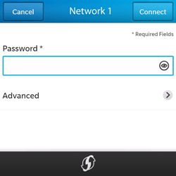 BlackBerry Q5 - WiFi and Bluetooth - Manual configuration - Step 8