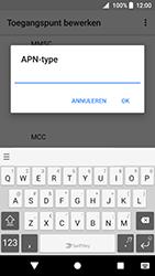Sony Xperia XZ Premium - Android Oreo - Internet - handmatig instellen - Stap 15