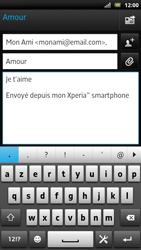 Sony LT22i Xperia P - E-mail - envoyer un e-mail - Étape 8