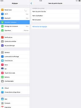 Apple iPad Pro 12.9 (1st gen) - iOS 10 - Internet - Configuration manuelle - Étape 7