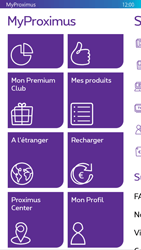 Nokia Lumia 830 - Applications - MyProximus - Étape 21