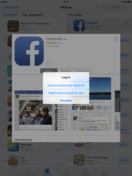 Apple iPad 2 met iOS 8 - Applicaties - Account aanmaken - Stap 7