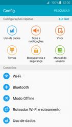 Samsung Galaxy S6 - Rede móvel - Como ativar e desativar o modo avião no seu aparelho - Etapa 4