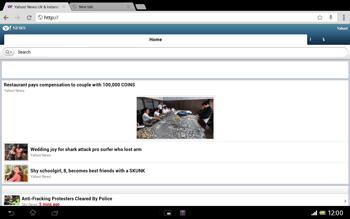 Sony SGP321 Xperia Tablet Z LTE - Internet - Internet browsing - Step 16