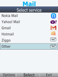 Nokia 301-1 - E-mail - Manual configuration - Step 6