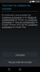 HTC Desire 610 - Premiers pas - Créer un compte - Étape 20