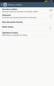 Samsung T315 Galaxy Tab 3 8-0 LTE - Réseau - utilisation à l'étranger - Étape 9
