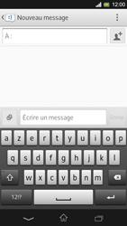 Sony Xpéria SP - Contact, Appels, SMS/MMS - Envoyer un MMS - Étape 5