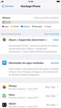 Apple iPhone 6 Plus - iOS 11 - Applications - Supprimer une application - Étape 8