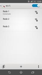 Sony Xperia E4G - Wi-Fi - Como configurar uma rede wi fi - Etapa 8