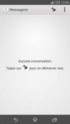 Sony Xpéria T3 - Contact, Appels, SMS/MMS - Envoyer un SMS - Étape 4