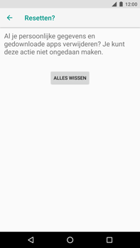 Huawei Nexus 6P - Android Oreo - Toestel - Fabrieksinstellingen terugzetten - Stap 9