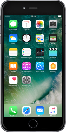 Apple iPhone 7 Plus - iOS features - iMessage functies - Stap 1