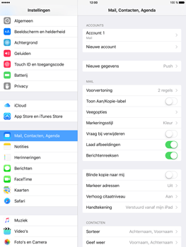 Apple iPad Mini 4 - E-mail - Handmatig instellen - Stap 25