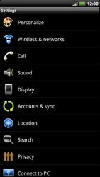 HTC Z715e Sensation XE - Voicemail - Manual configuration - Step 4