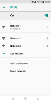 ZTE Blade V9 - Wi-Fi - Connect to a Wi-Fi network - Step 9