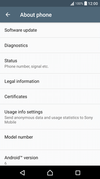Sony F3211 Xperia XA Ultra - Network - Installing software updates - Step 6
