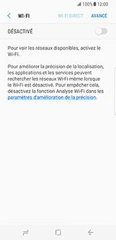 Samsung Galaxy S8 - Wi-Fi - Accéder au réseau Wi-Fi - Étape 6