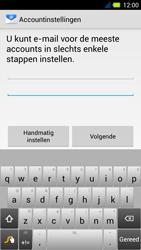 Acer Liquid E3 - E-mail - Handmatig instellen - Stap 6