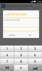 Alcatel OT-5050X Pop S3 - Sécuriser votre mobile - Personnaliser le code PIN de votre carte SIM - Étape 7