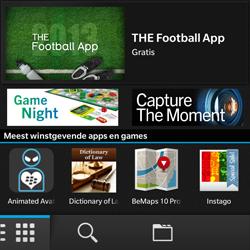 BlackBerry Q5 - Applicaties - Applicaties downloaden - Stap 3