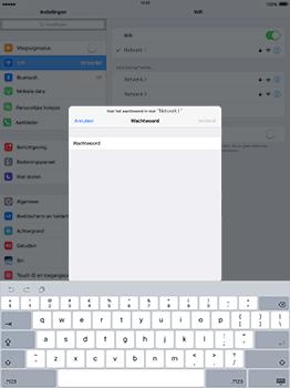 Apple iPad Pro 12.9 (1st gen) - iOS 10 - WiFi en Bluetooth - Handmatig instellen - Stap 6