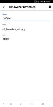 LG Q7 - Internet - Hoe te internetten - Stap 10