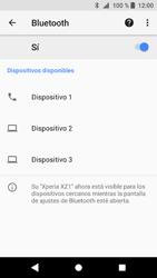 Sony Xperia XZ1 - Bluetooth - Conectar dispositivos a través de Bluetooth - Paso 7