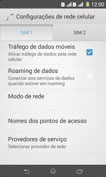 Sony D2105 Xperia E1 Dual - Internet (APN) - Como configurar a internet do seu aparelho (APN Nextel) - Etapa 6